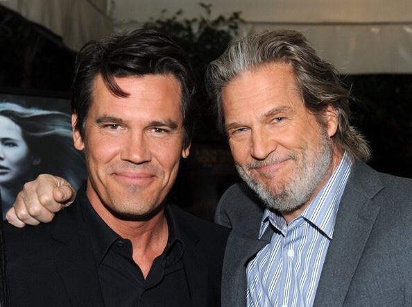 Actors Jeff Bridges and Josh Brolin